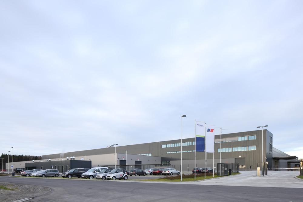 neubau materialwirtschaftszentrum kluftern