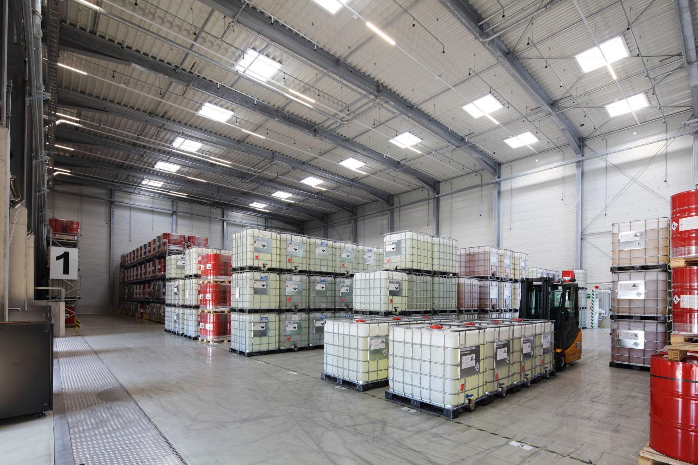 neubau warehouse baltringen